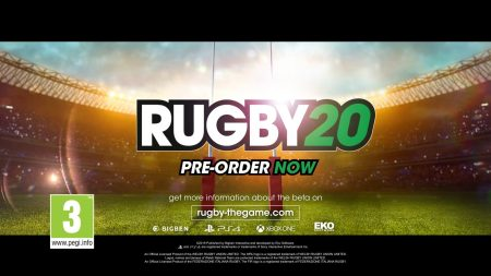 RUGBY 20 – Trailer de la Beta