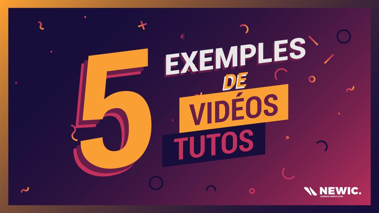 5 exemples de videos motion design