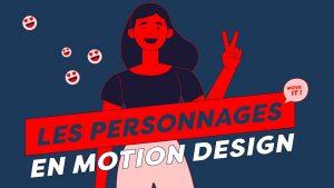 animation de personnages en motion design