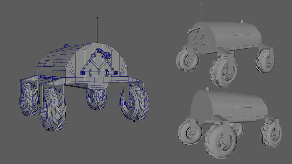Arvalis etapes de production film animation sous Maya