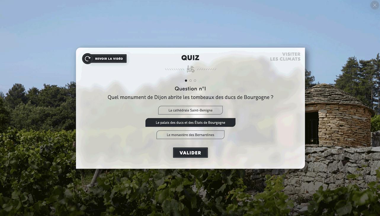 Quiz climats de bourgogne