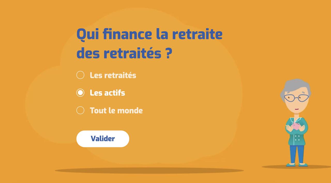 Quiz interactif CNAV